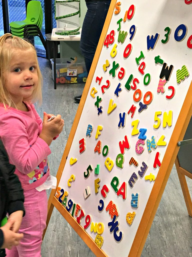 alphabet learning