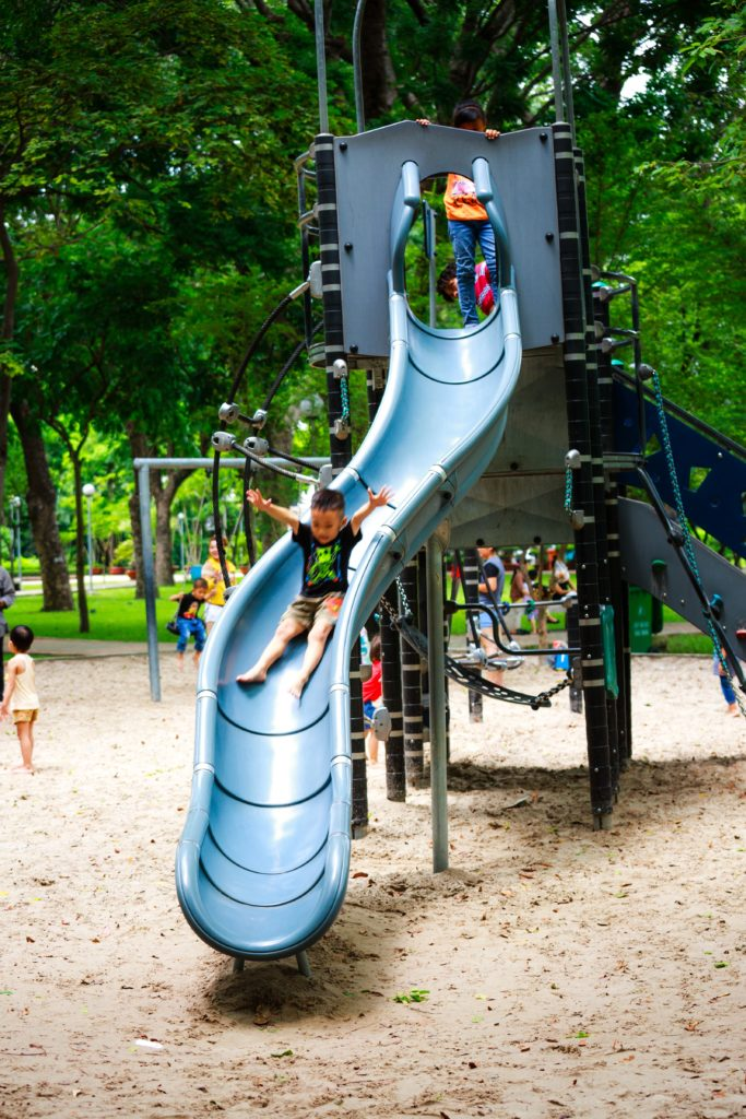 benefits of playground play